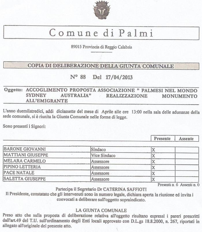 Delibera GC 88 17-4-2013 pag.1
