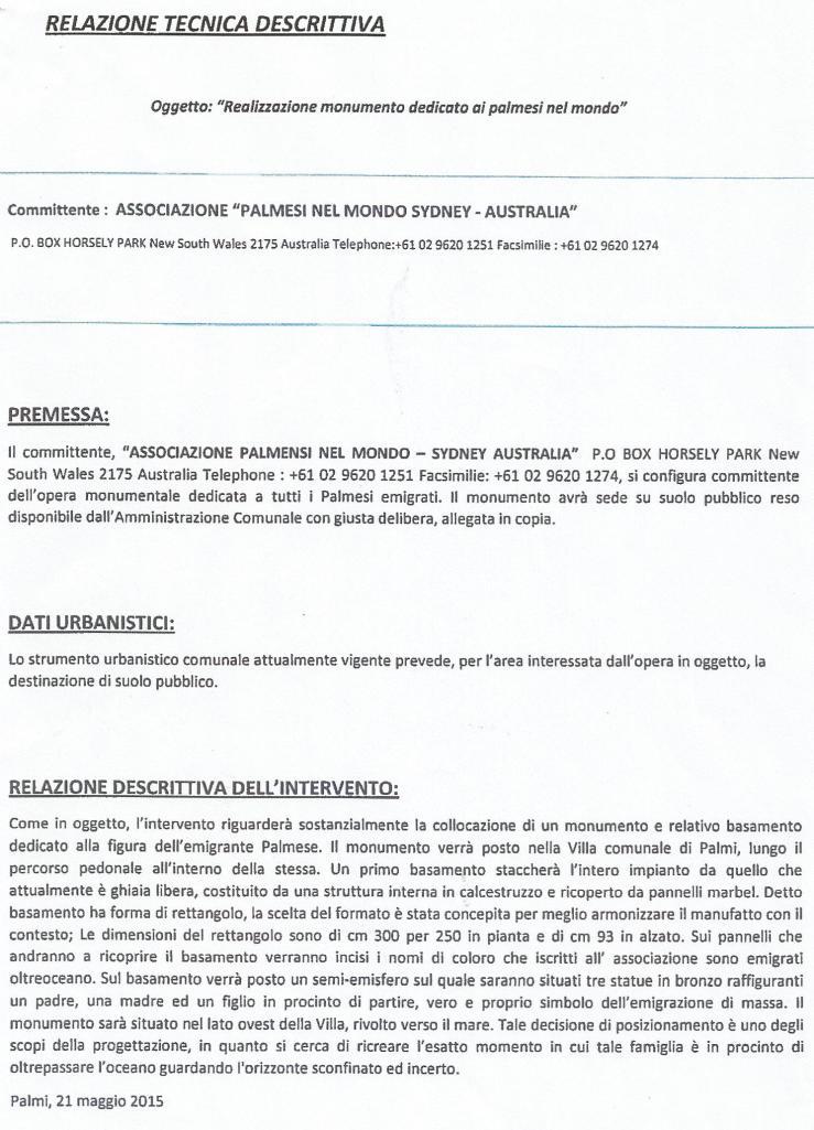 Relazione tecnica pag.1